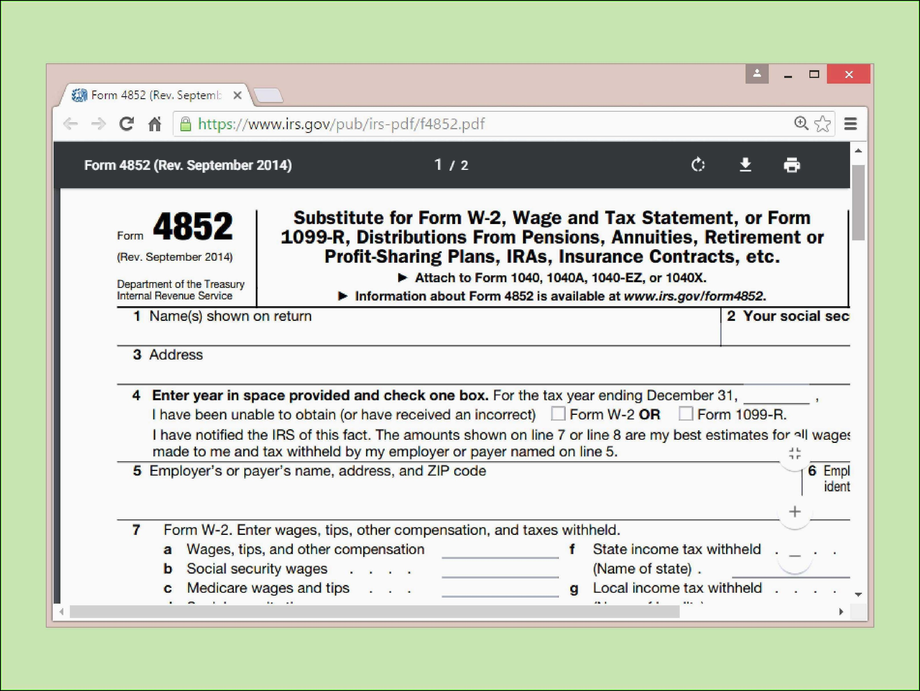 Irs Form 1040x Instructions 2014