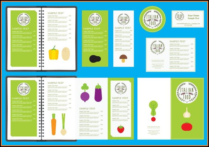 Italian Menu Templates Free Download