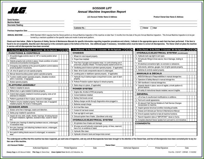 Vehicle Inspection Form Template Pdf Form Resume