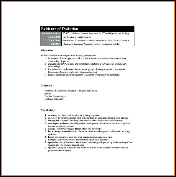 Lesson Plan Example For High School English