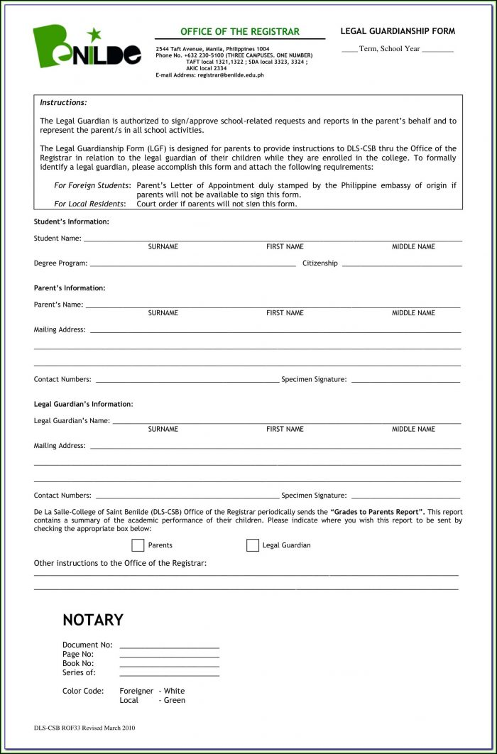 Linn County Oregon Guardianship Forms