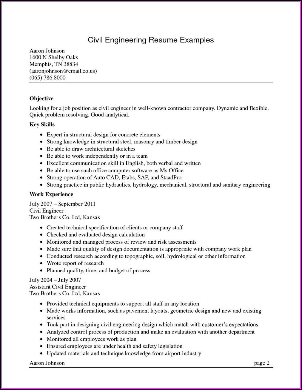 Macbook Pro Resume Builder