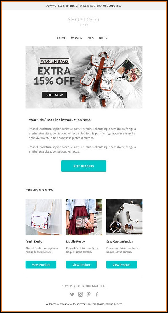 Mailchimp Newsletter Templates Download