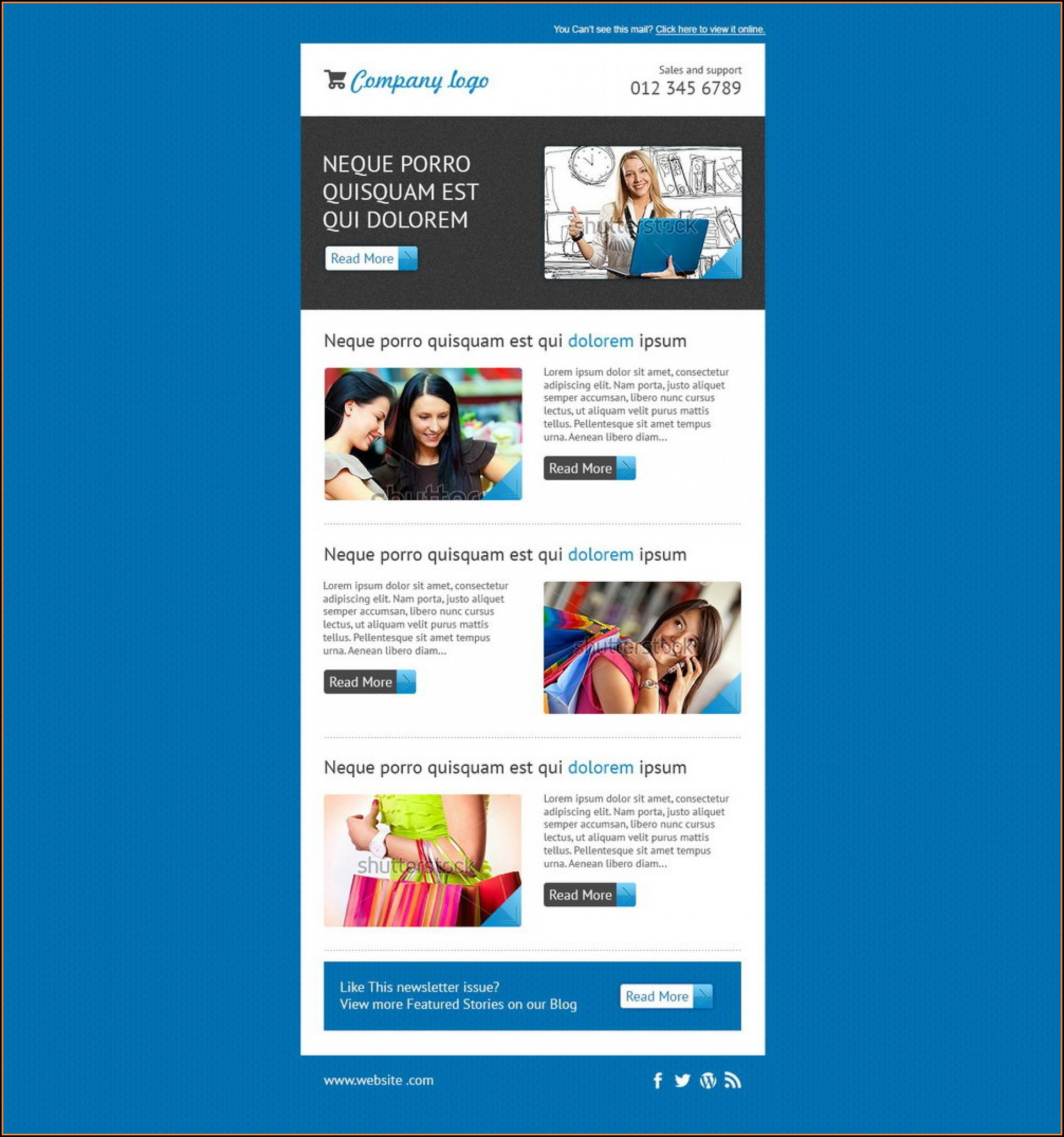 Mailchimp Newsletter Templates Free Download