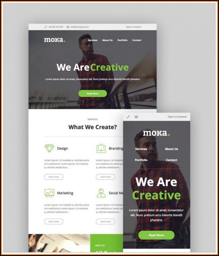Mailchimp Newsletter Templates Wordpress