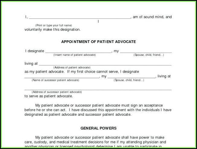 Maine Statutory Power Of Attorney Form