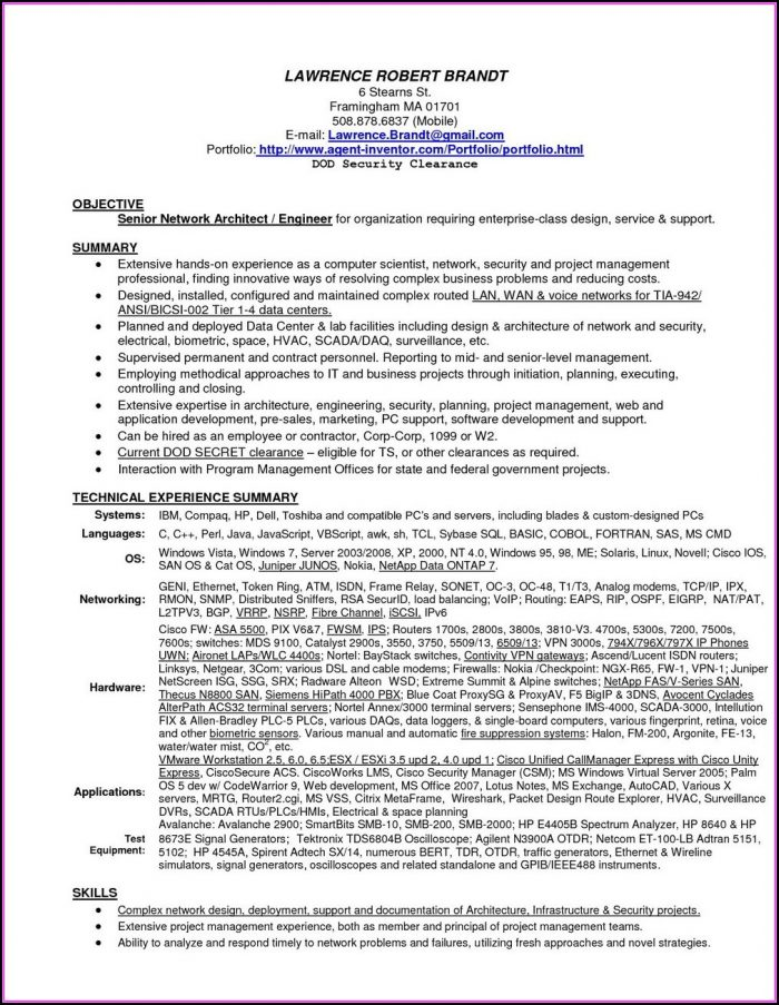Military Skills Translator For Resume