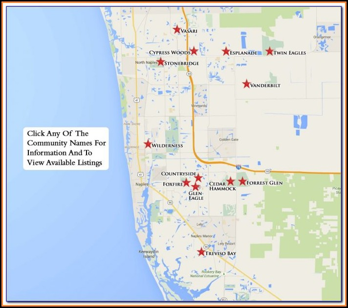 Naples Real Estate Map