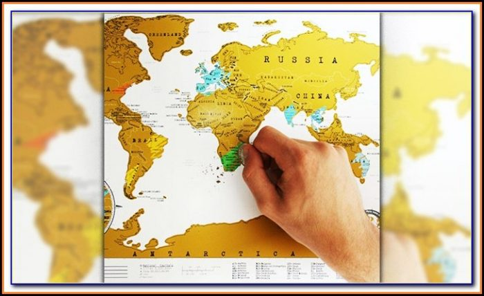 National Geographic Shop Scratch Map