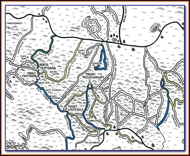 New Hampshire Snowmobile Trail Maps