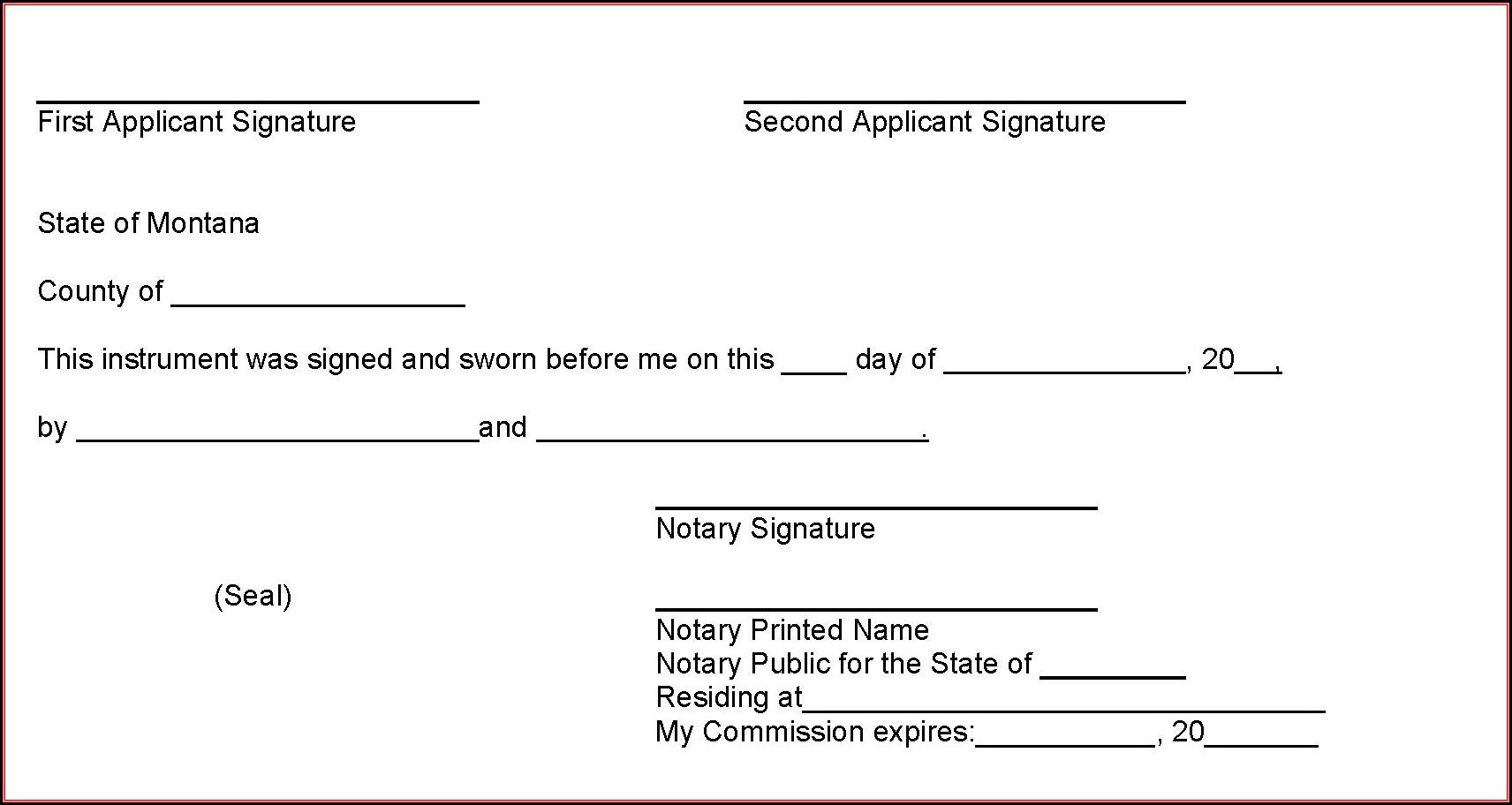 Notary Public Forms Georgia