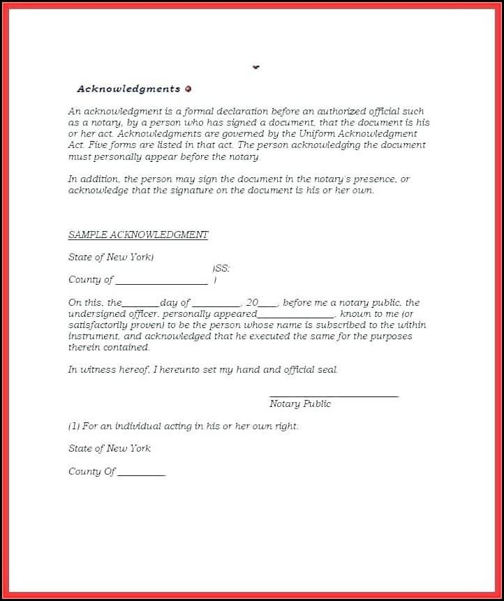 Notary Public Forms North Carolina