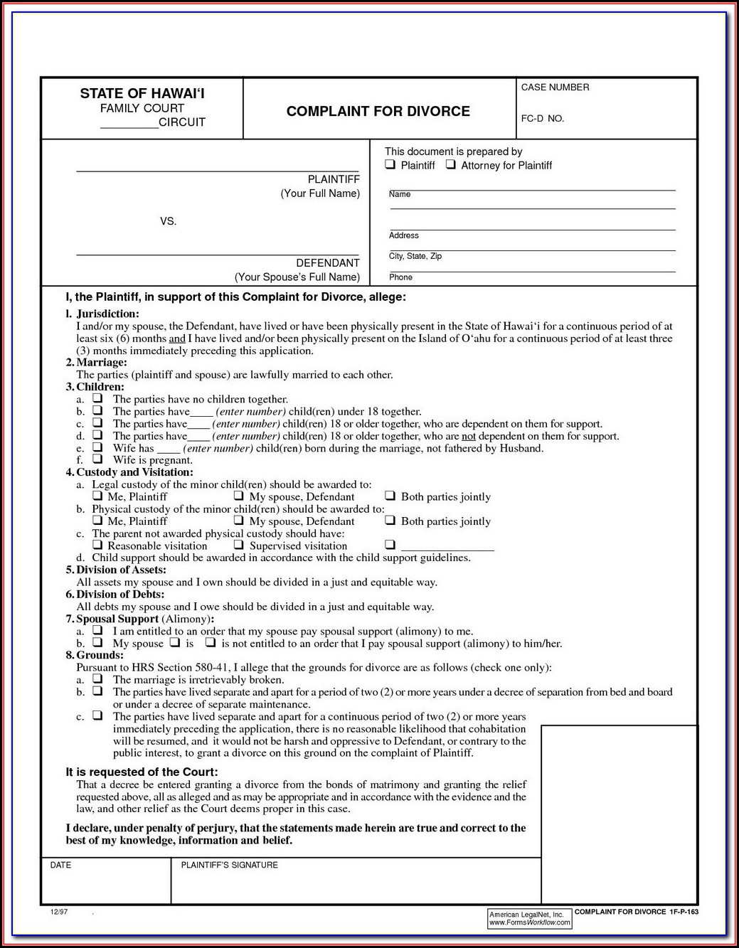 Ny Uncontested Divorce Forms