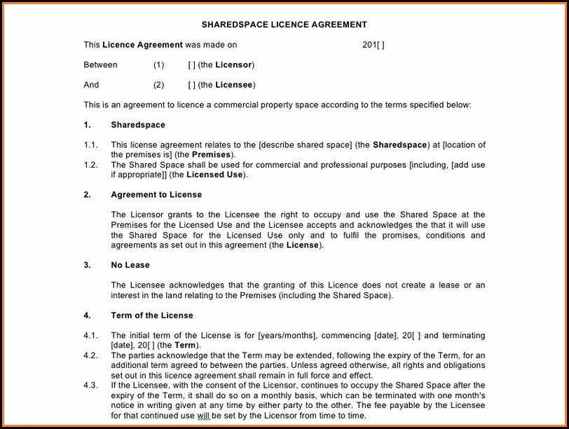 Office Space Lease Contract Template
