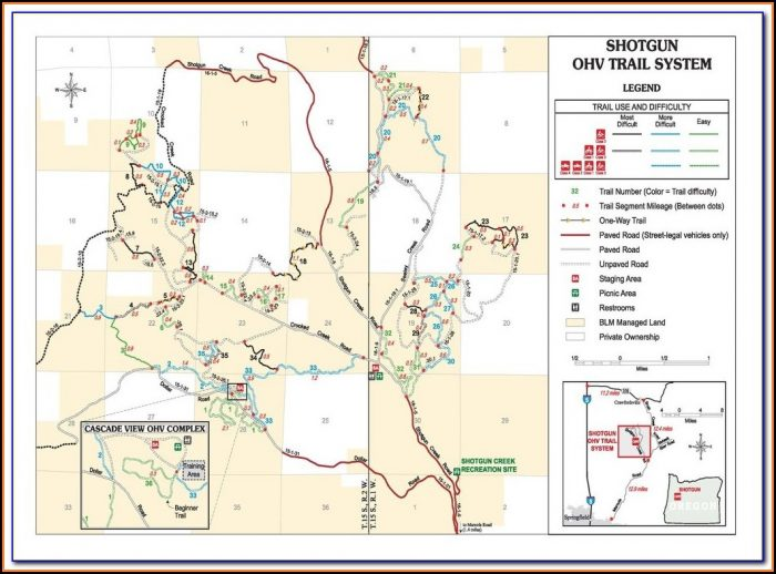 Ohv Gps Trail Maps