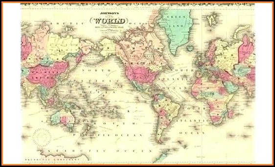 Old World Map Rugs