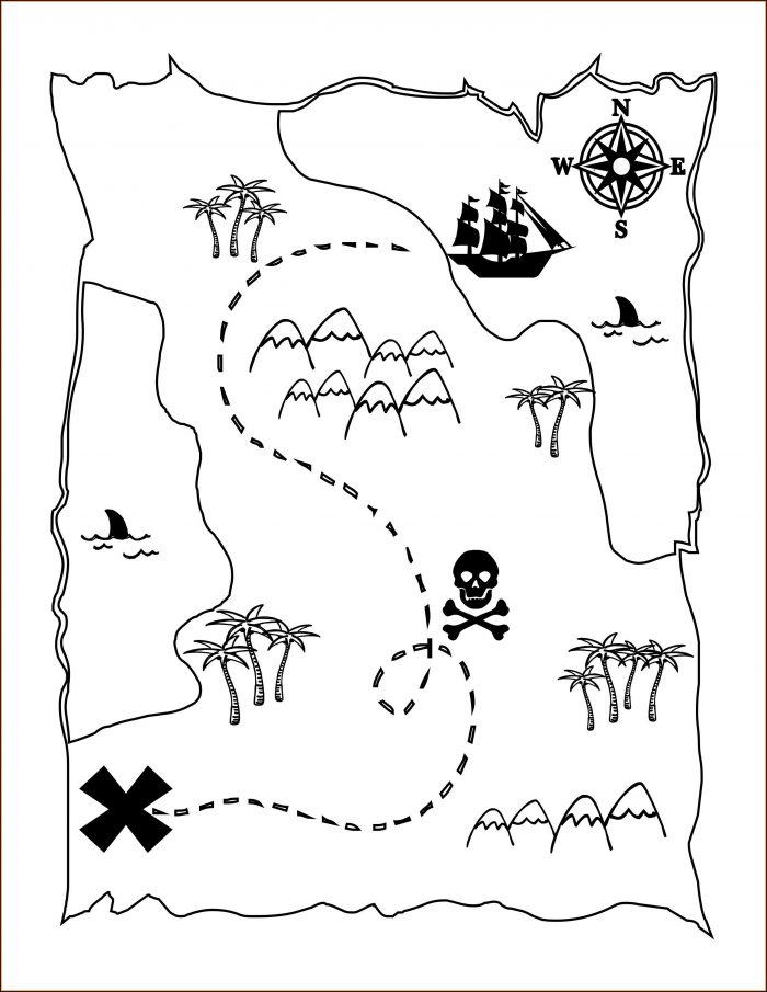 Pirate Maps Printable