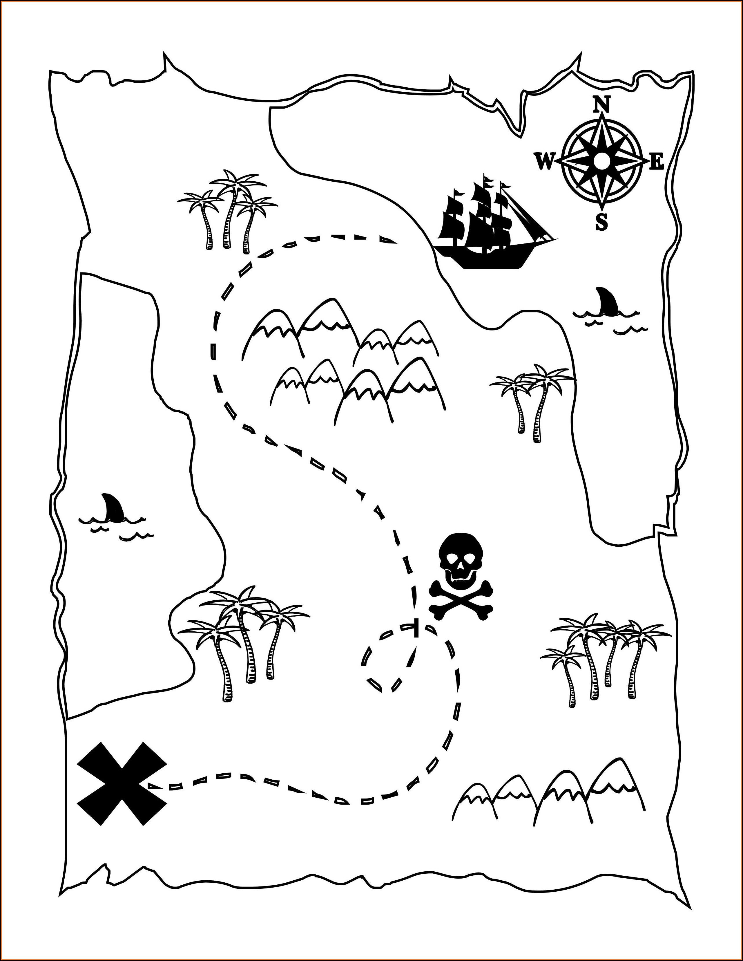 Pirate Maps Printable
