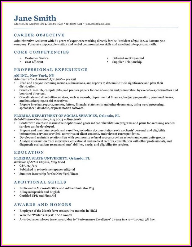 Prepare Good Resume Format