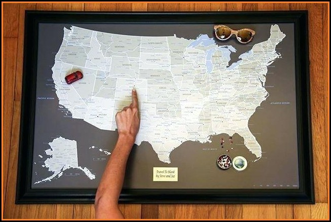 Push Pin Travel Map Coupon