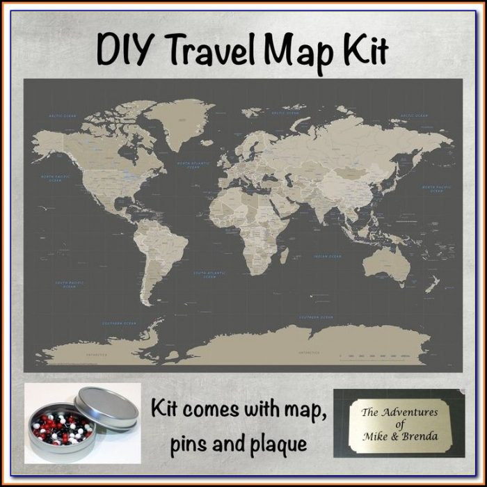 Push Pin Travel Maps Discount Code
