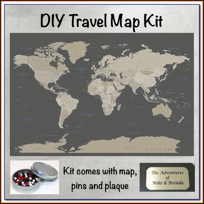 Push Pin Travel Maps Discount Code