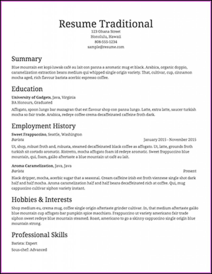 Resume Builder Pro Full Version Free Download