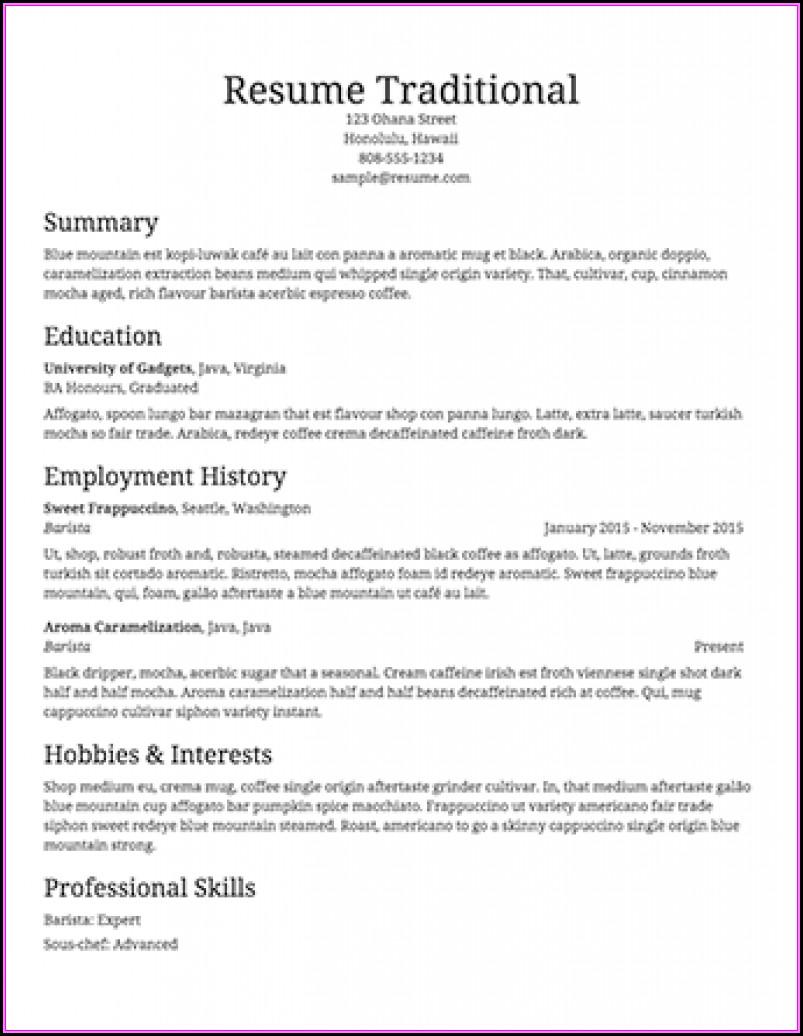 Resume Builder Pro Full Version Free Download