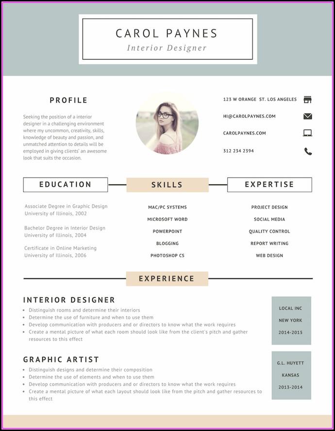 Resume Design Online Free