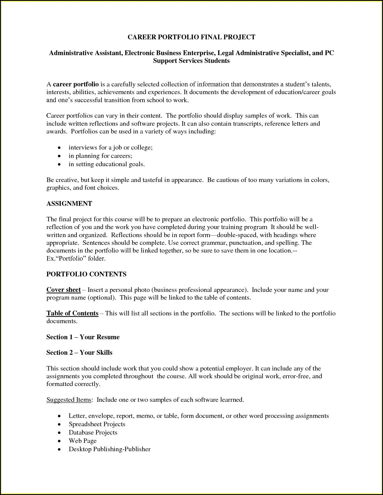Resume Template For Medical Office Assistant