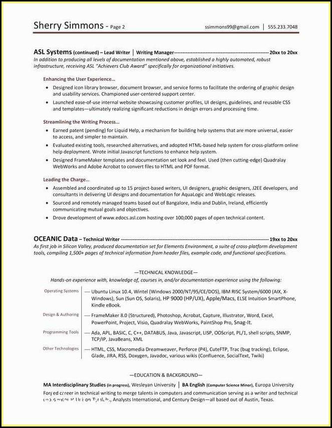 Resume Writer Phoenix