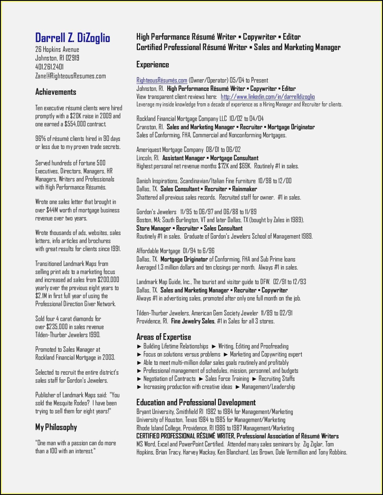 Resume Writers Association Australia
