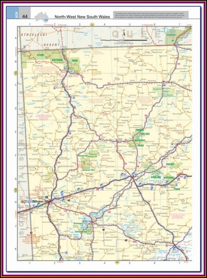 Road Maps For Truckers