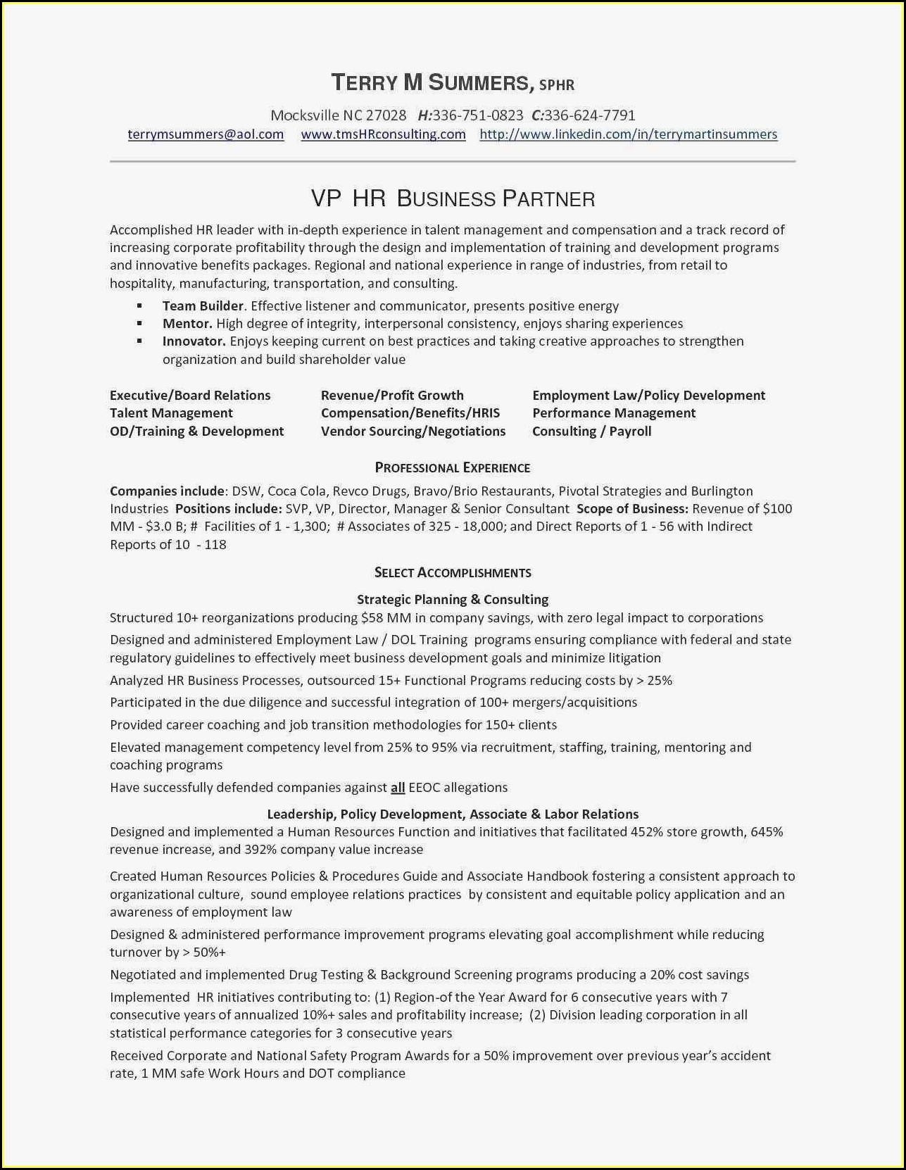 Sample Resume For Sales Executive In Telecom