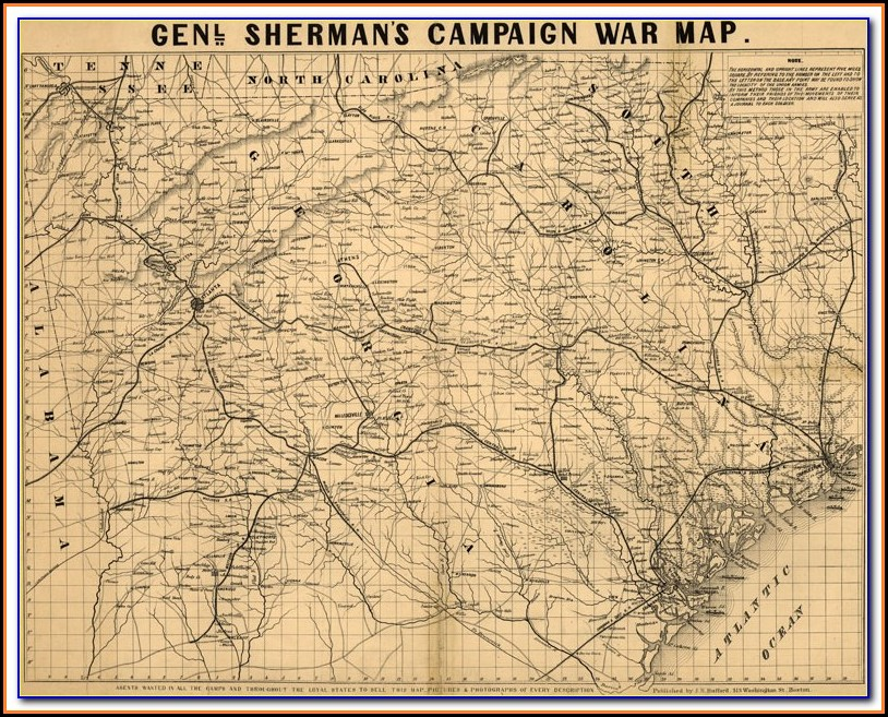 South Carolina Hurricane History Map