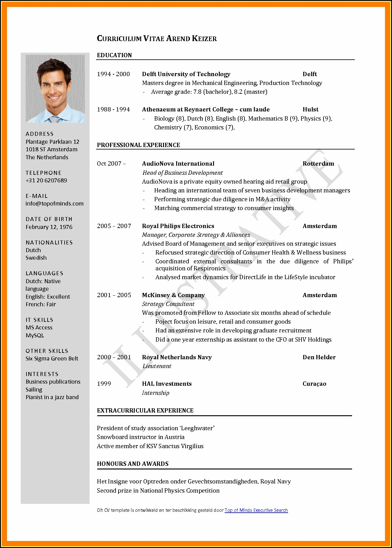 Standard Resume Format For Mechanical Engineers Doc