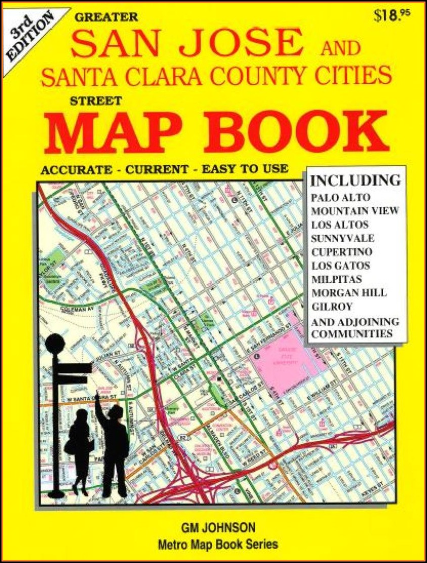 Street Map Santa Clara County Ca