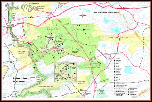Susquehannock Trail Maps