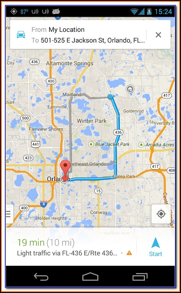 Track Cell Phone Using Google Maps