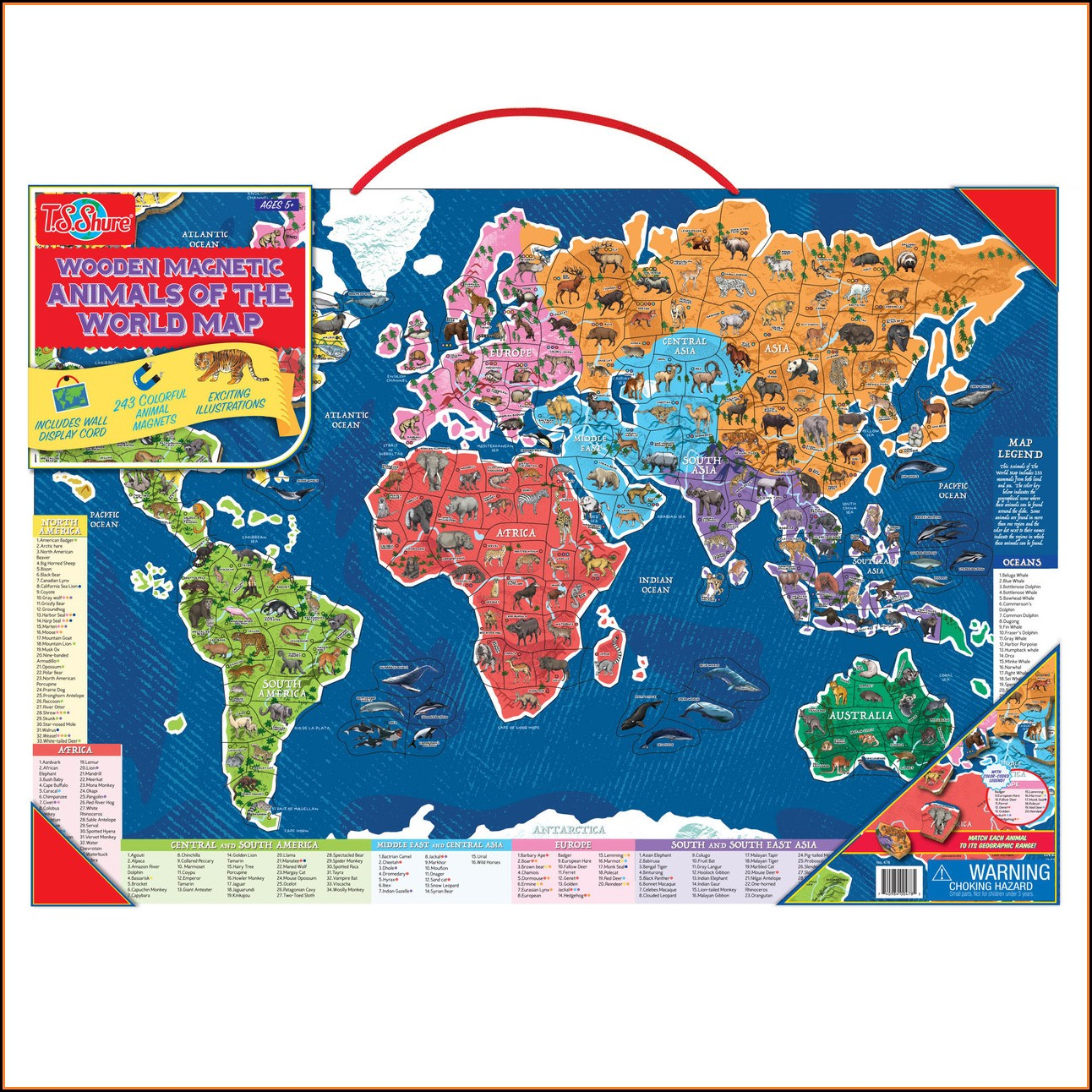 Ts Shure Map Of The World