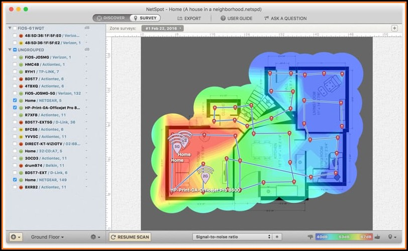 Wifi Heat Mapping Tools