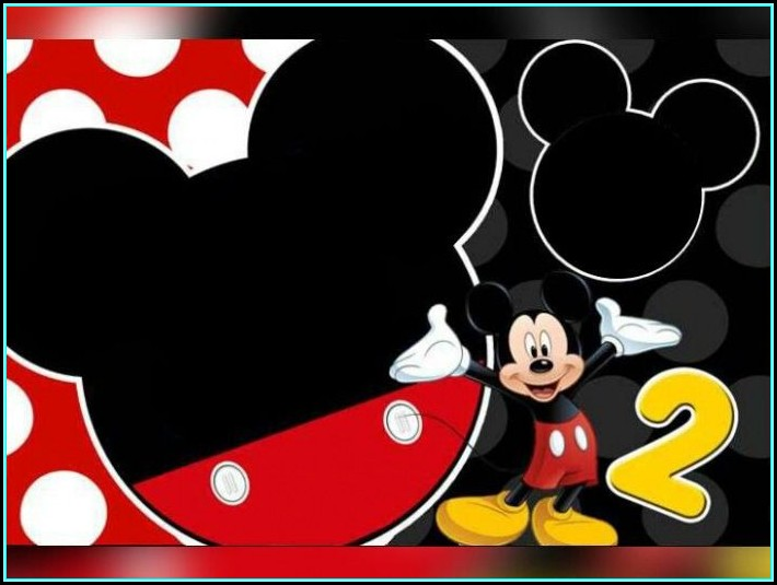 Free Mickey Mouse Invitation Template Download