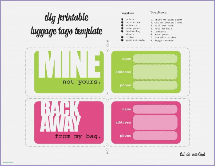 Free Printable Chapstick Label Template