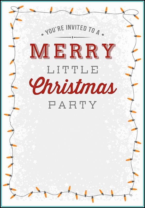 Free Printable Christmas Save The Date Templates