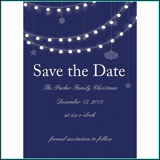 Free Printable Party Save The Date Templates