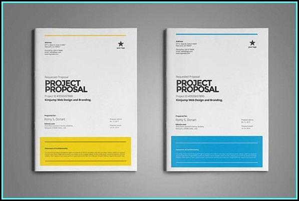 Free Proposal Templates Word