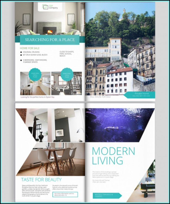 Free Real Estate Brochure Design Templates