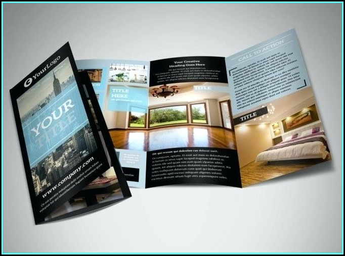 Free Real Estate Brochure Template Word