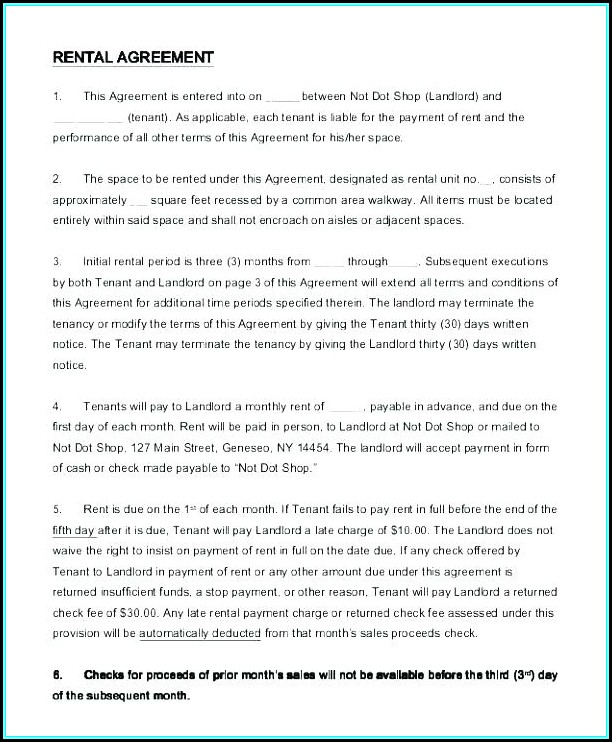 Free Subletting Agreement Template Uk