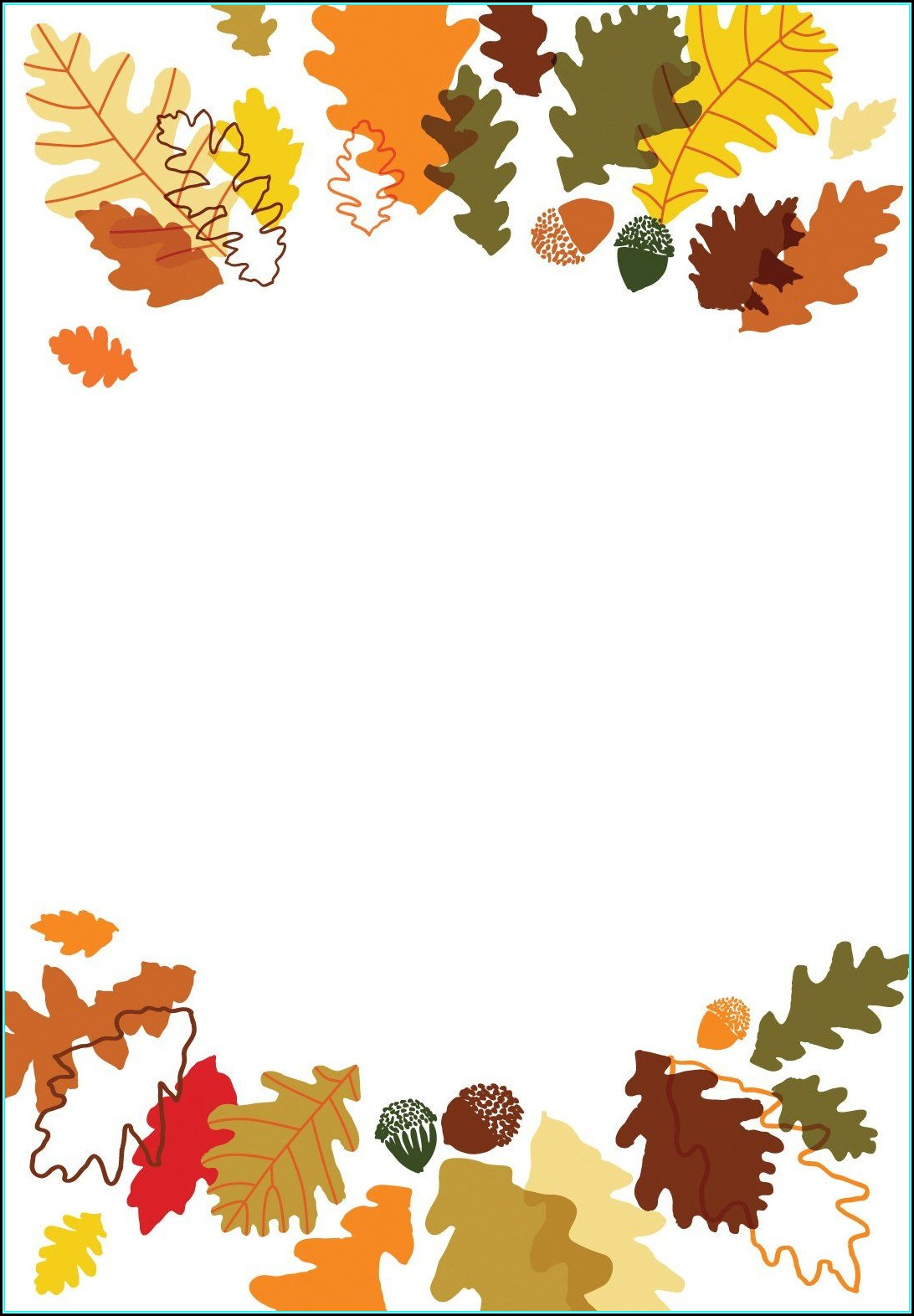Free Thanksgiving Invitation Templates For Word
